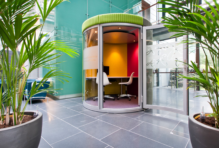 Wow Pod Movable Private, Quite, Work Space for up to 4 People