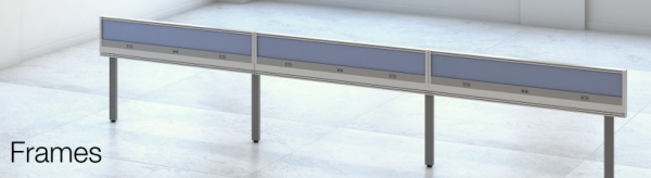 The Enwork Grid - Frame -standard  foundation of the Grid Open Office Collaborative Workspace System