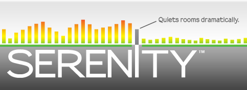 Serenity Coating Dramatically Cuts Room Noise - can be coated with any color