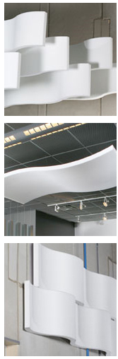 Sound Absorbing Panels dramatically cuts room noisePaint dramatically cuts room noise