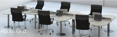 Grid Frame Open Office - One Typical Configuration