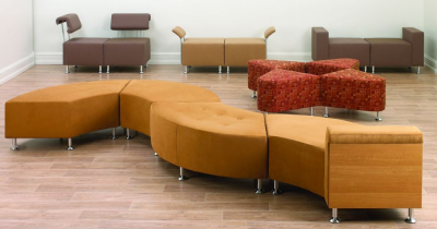 Business Furniture - Soft Seating in Lobby Area