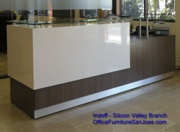 AltiGen Communication's, San Jose, CA, Reception Desk