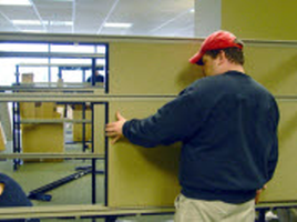 0085 - Cubicle Reconfiguration - Services - Office Furniture San Jose
