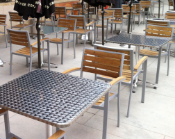 0190   Restaurant Outdoor Cafe Dining Set