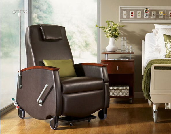 0213   Healthcare Furniture   Medical Reclining Treatment Chair