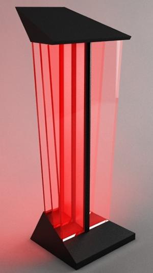 lecterns podiums acrylic tabletop multimedia wood. Black Bedroom Furniture Sets. Home Design Ideas