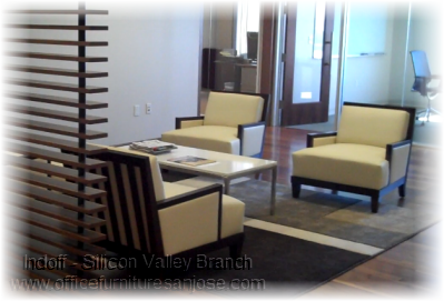 Lobby Reception Chairs - First Hand Capital - San Jose, CA